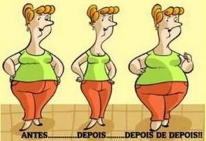 É isso que acontece quando se faz uma dieta com muita restrição!