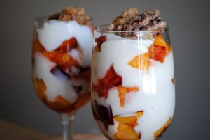 iogurte e nozes