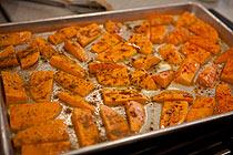 preparação batata