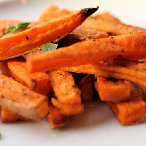 Receita: batata doce que parece frita, mas é assada!