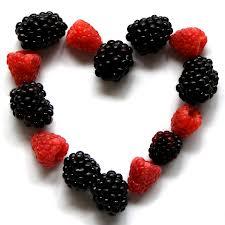 berries heart
