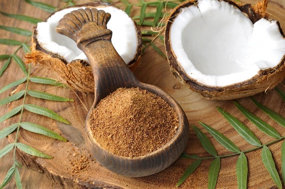 Açúcar de coco destaque