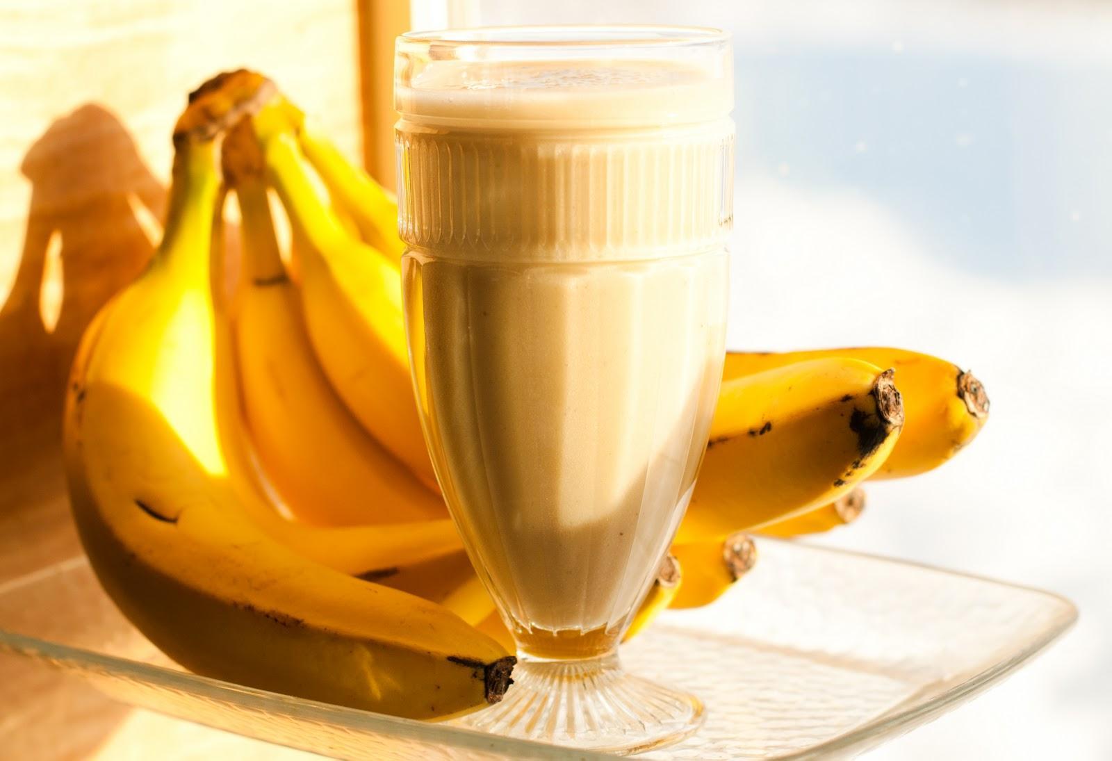 banana smoohtie destaque