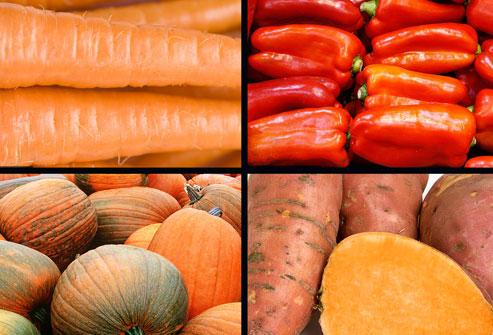 Alimentos betacaroteno