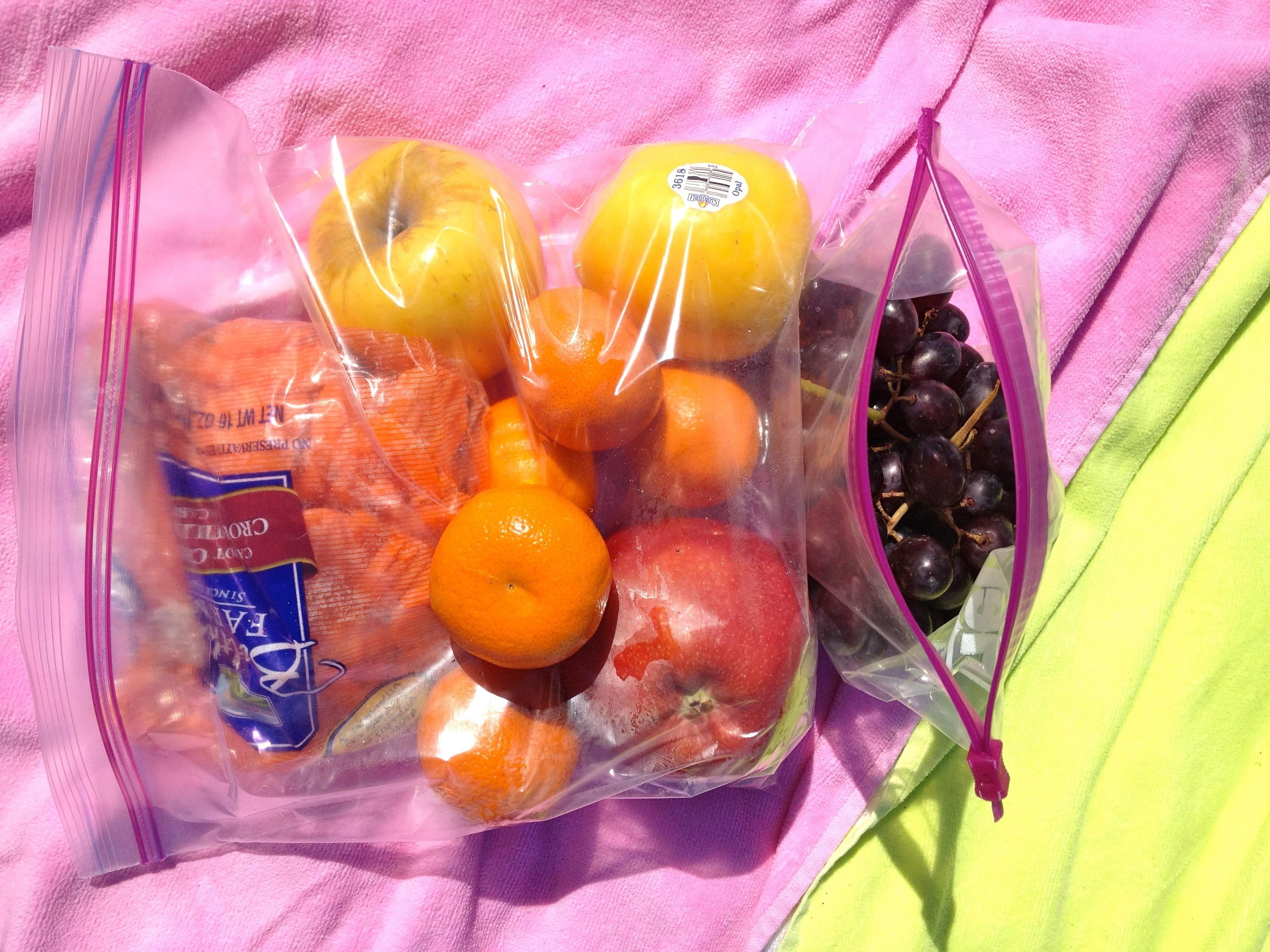 snack beach