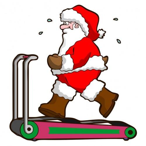 Ho ho ho... É Natal: treino para fazer em casa (queime calorias extras) + receita de chocotone saudável