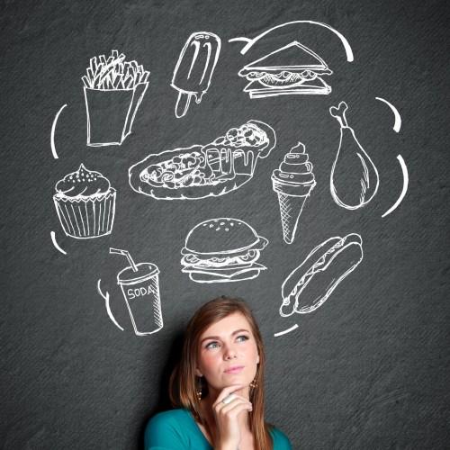 Como eliminar pensamentos negativos durante a dieta