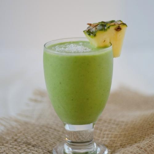Piña Colada Verde Saudável e sem álcool