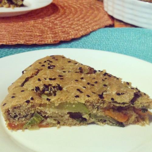 Receita da semana: torta de legumes light