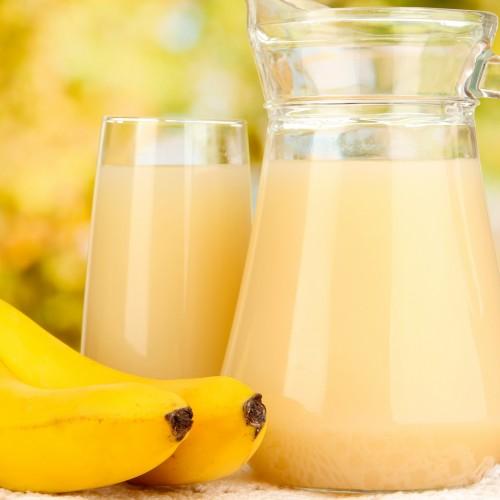 Para uma boa digestão: vitamina de banana com gengibre