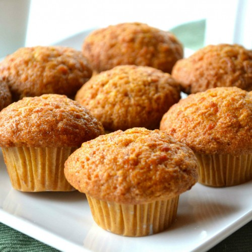 Muffin de banana integral