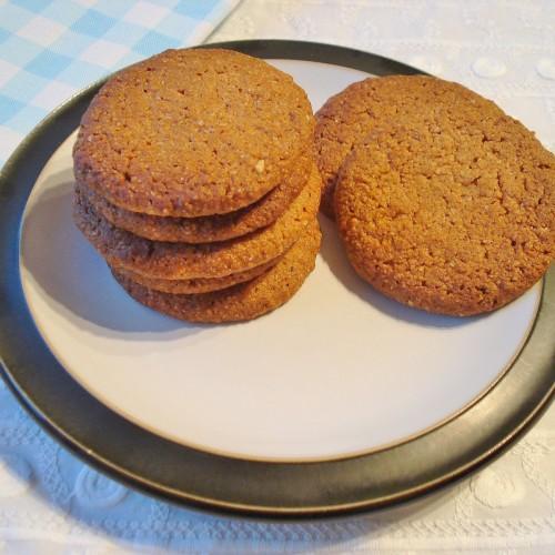 Biscoitos de gengibre (sem glúten)