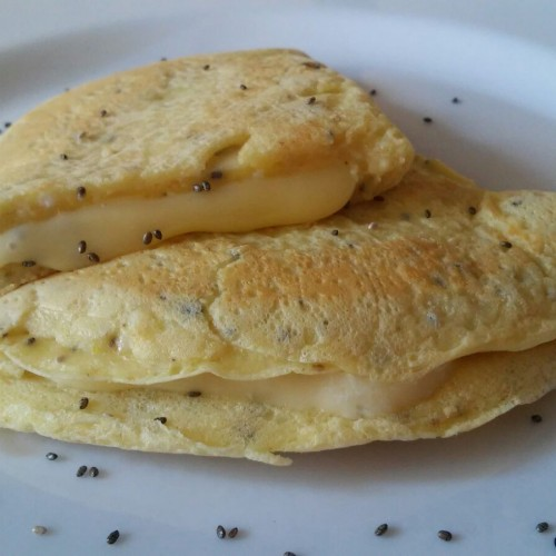 Pão de queijo de frigideira