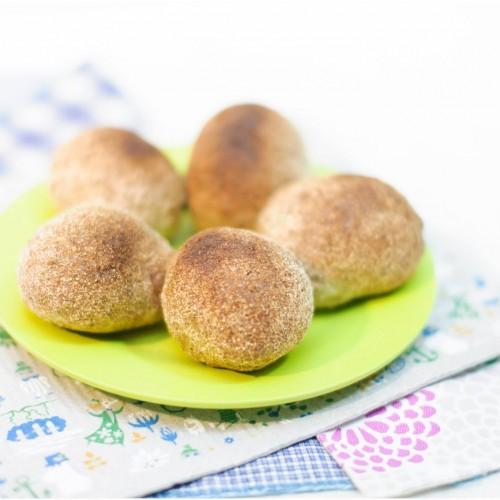 Mini pão de batata-doce com quinua (sem glúten)