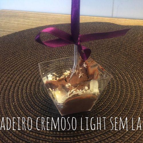 Brigadeiro Cremoso Light sem lactose